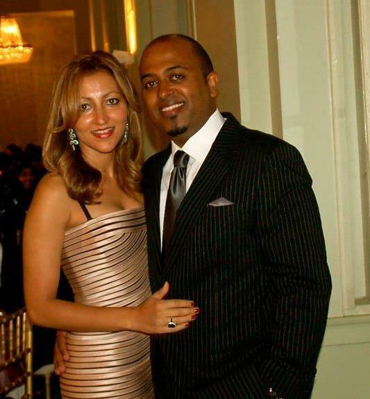 khalid and wife dress up