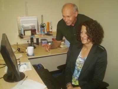Backer and Susan Eleftherakis, VP, Operations