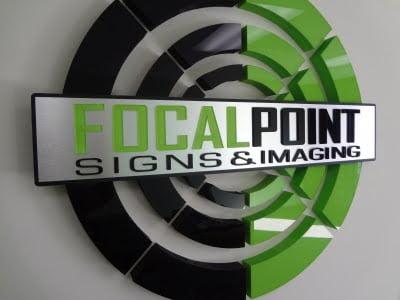Focal Point Lobby Sign