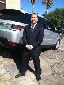 Jeff Assad, Finance Manager at Jaguar Land Rover Anaheim Hills, captured the coveted Marque of Distinction award at Jaguar Land Rover's premier awards event in England.