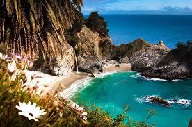 Breathtaking California beach