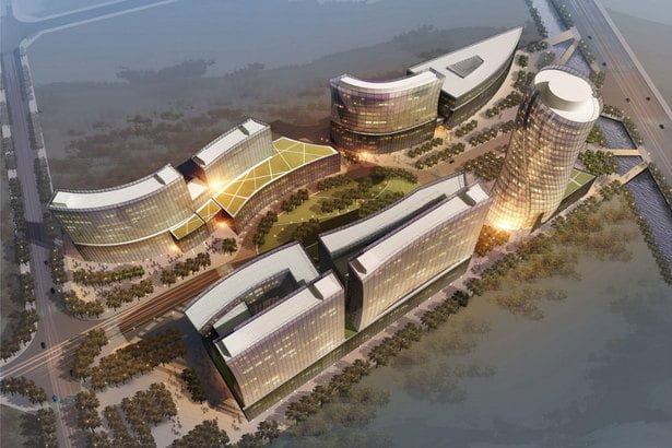 Oculus' award-winning Convention Center in Yangzhou, China.